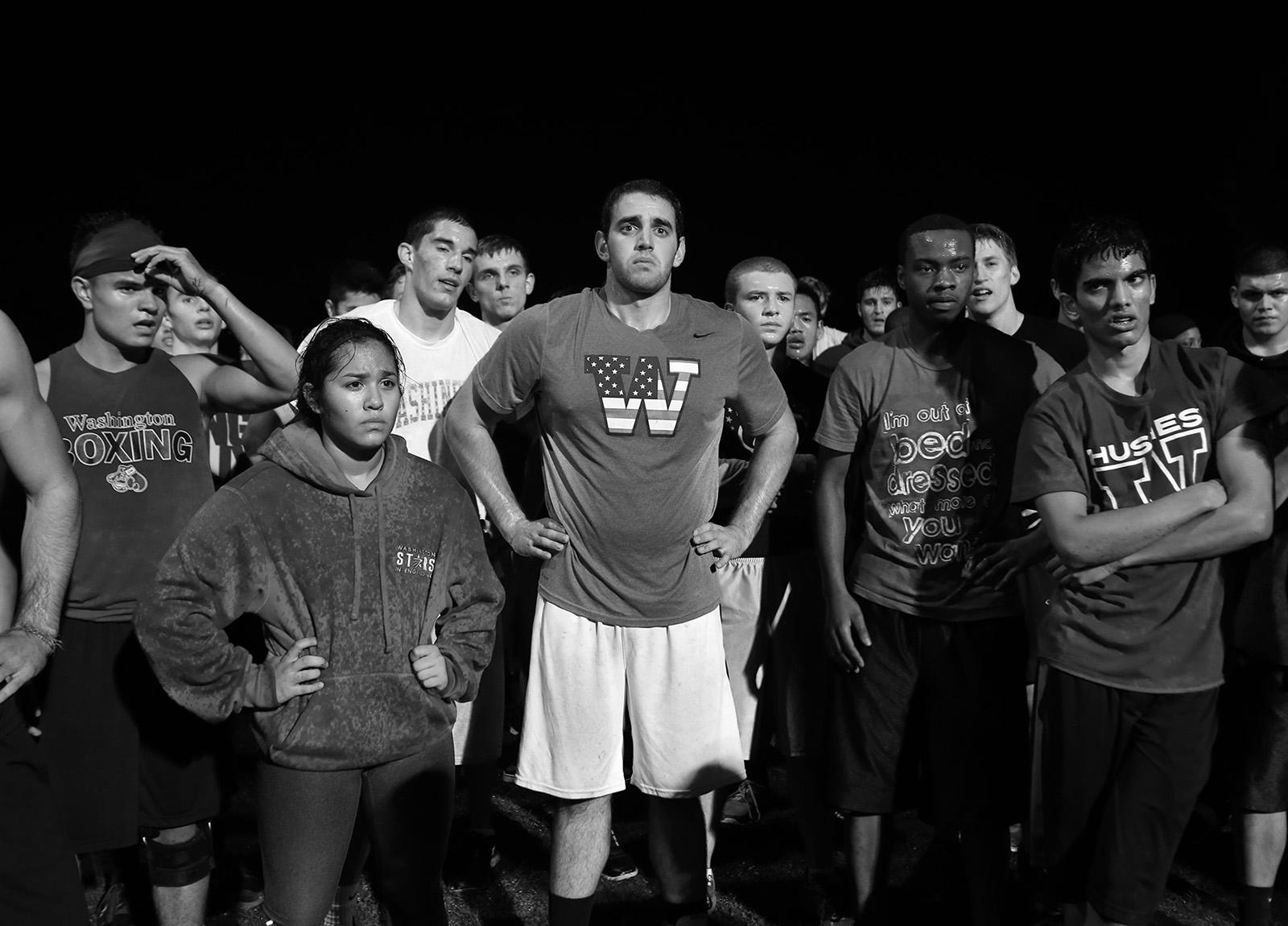 University of Washington boxing team tryouts