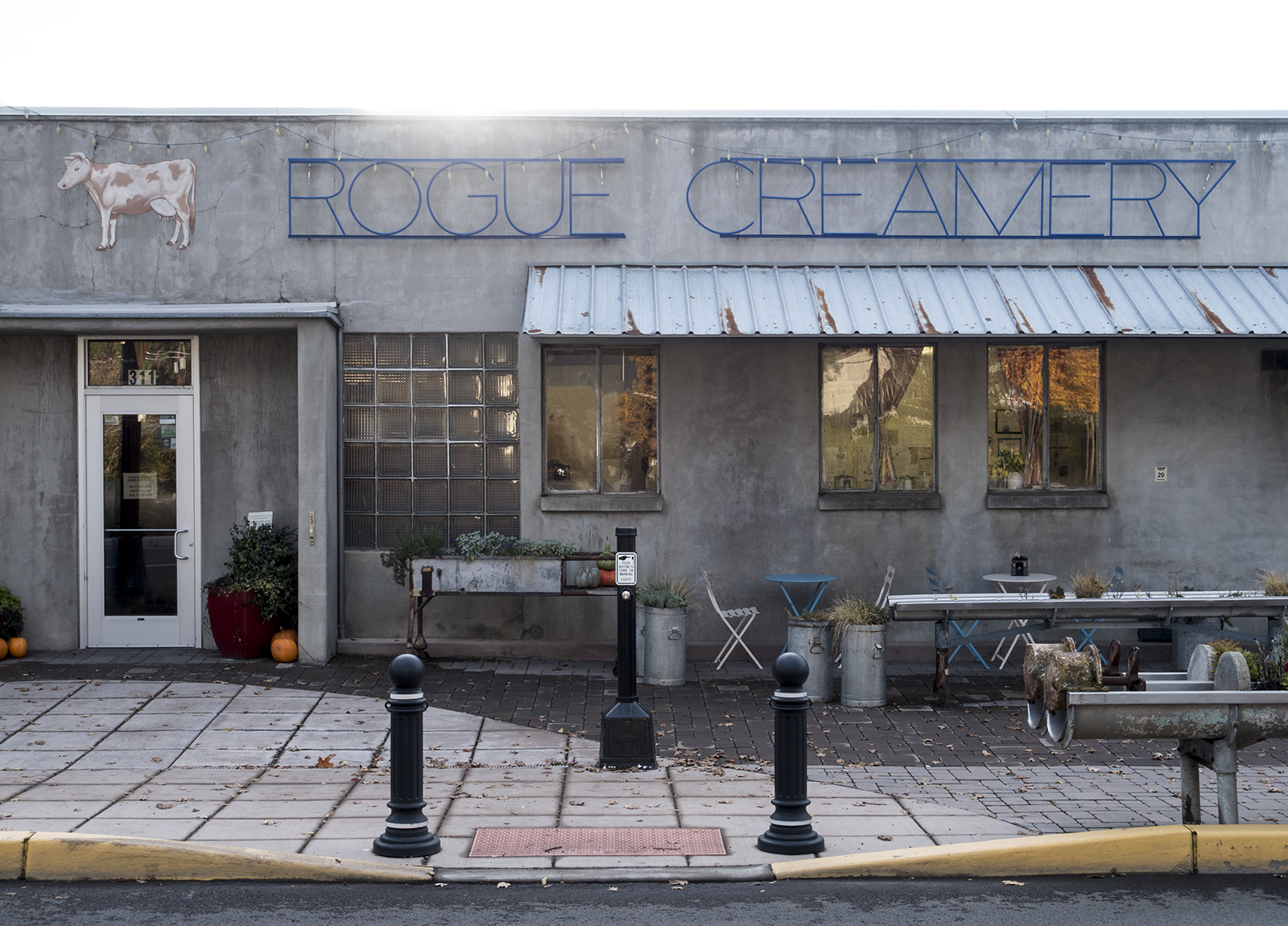 Rogue Creamery, Central Point, OR.