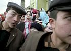 Id Kah Mosque gathering, Kashgar, China