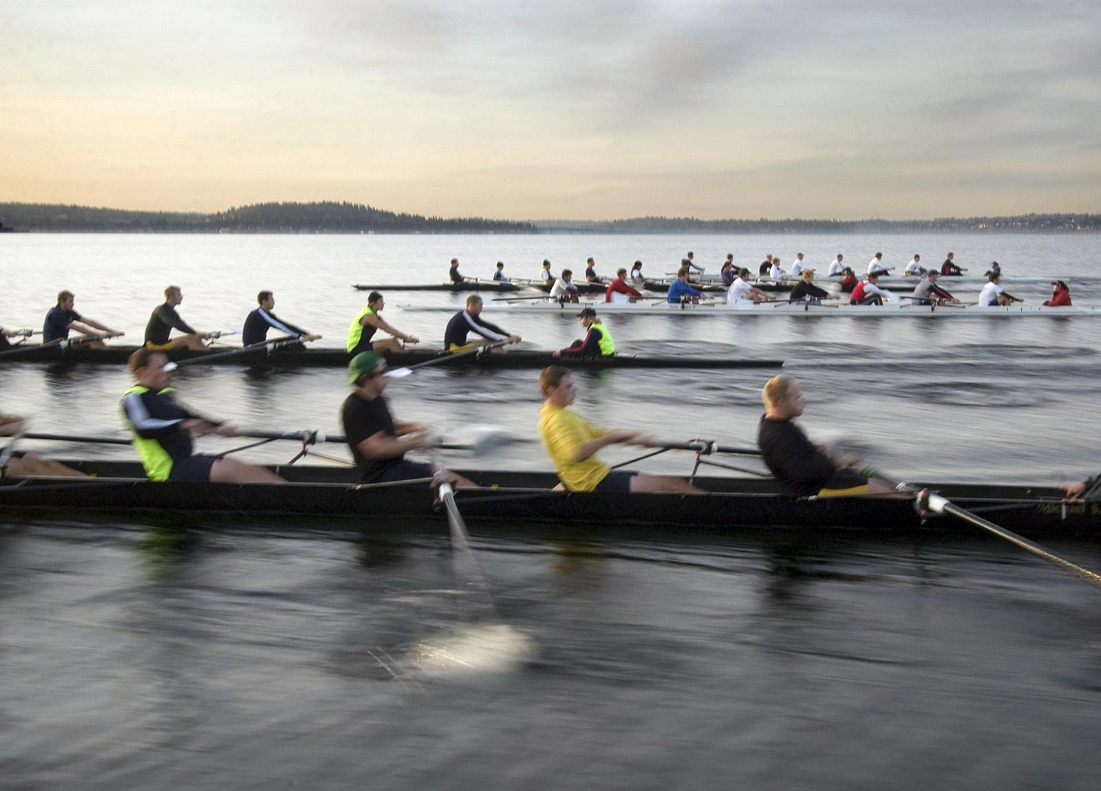 University of Washington rowing team