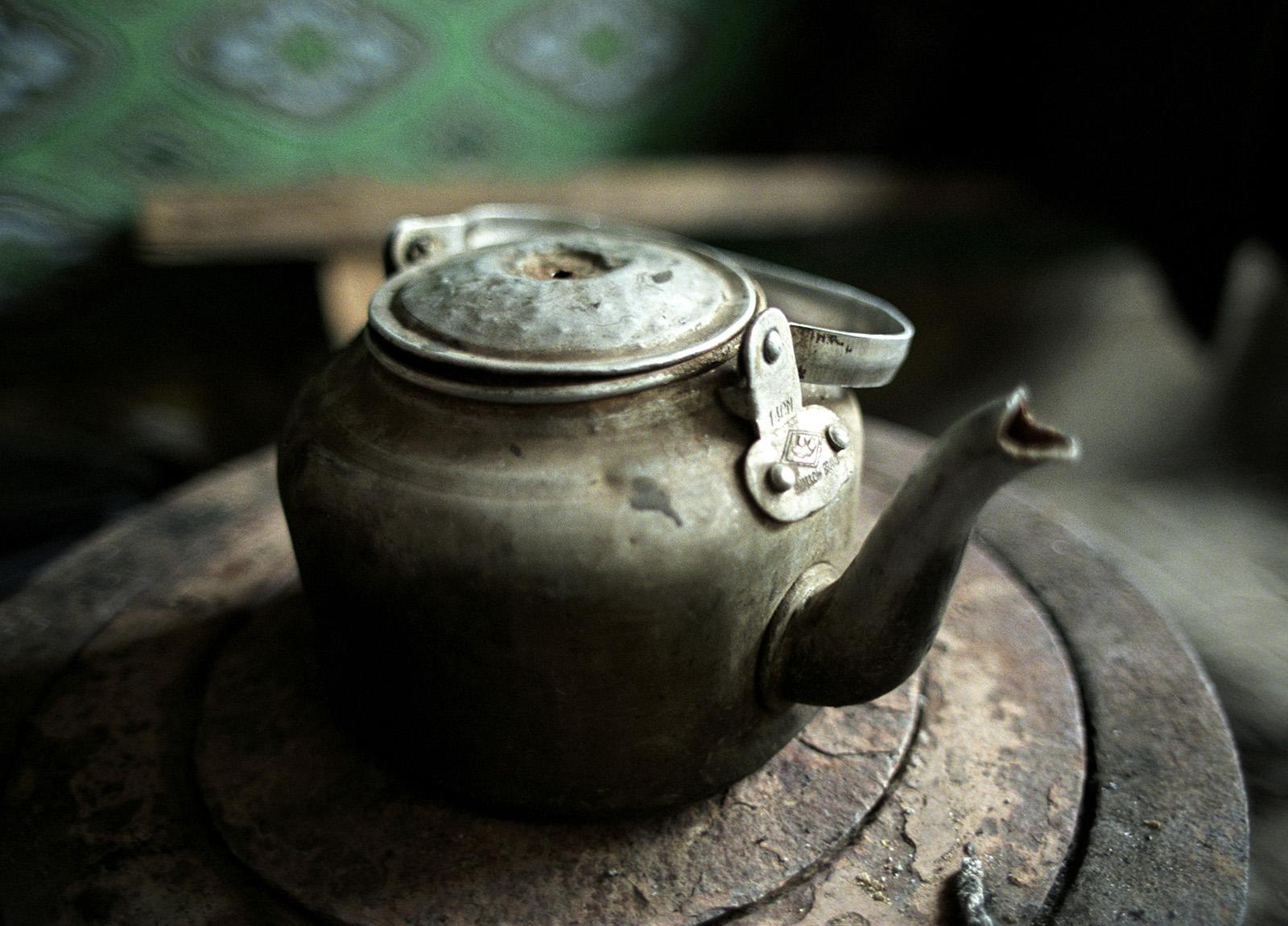 Kashgar, China teapot