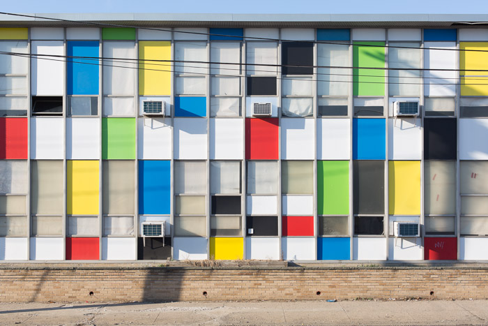 Colorful Building, Bridgeport, 2014