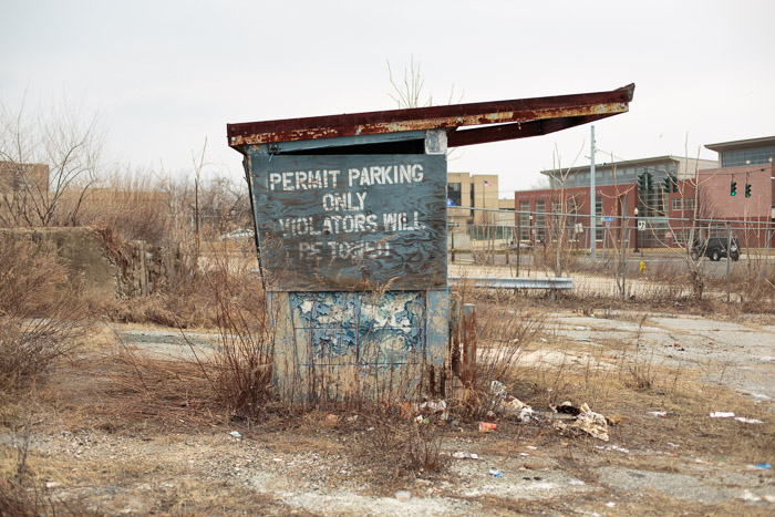 Permit Parking, Bridgeport, 2014
