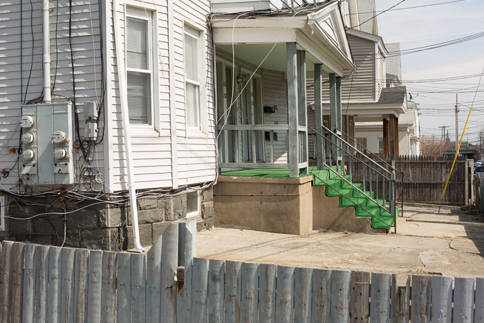 Porch, Bridgeport, 2014