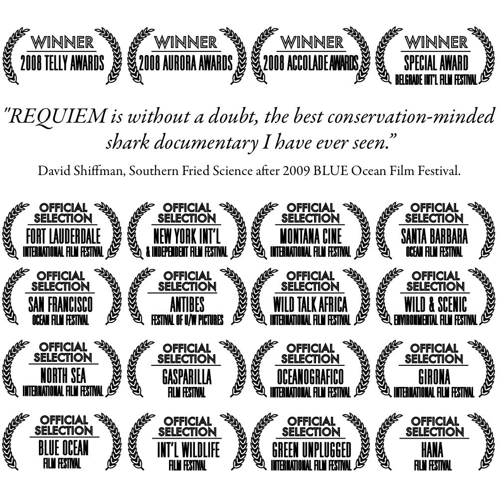 Shark Film by Living Ocean Productions - multiple award winning documentary.