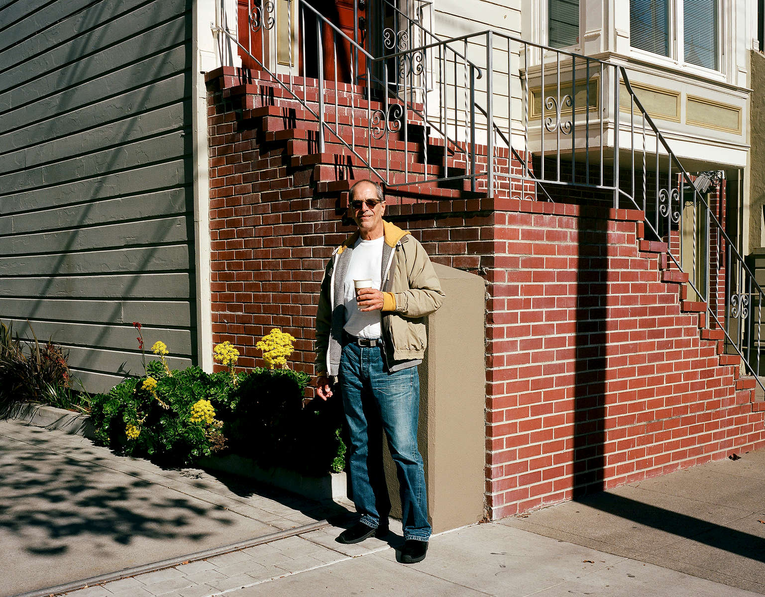 Harry Breaux stands near his home in San Francisco, Calif. on November 9, 2016. Breaux was one of the men featured in the Chronicle's first feature film called Last Men Standing about long-term HIV survivors.