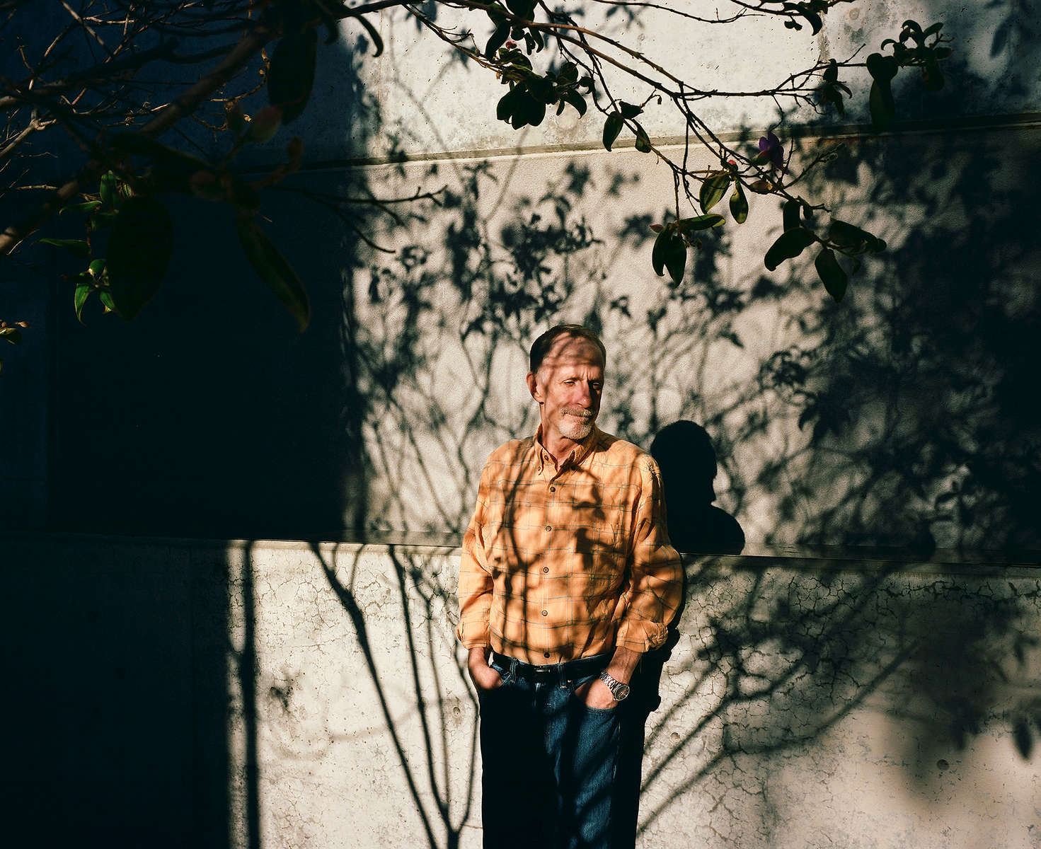 Kevin VandenBergh stands outside his new apartment in San Francisco, Calif. on November 23, 2016. VandenBergh was one of the men featured in the Chronicle's first feature film called Last Men Standing about long-term HIV survivors.