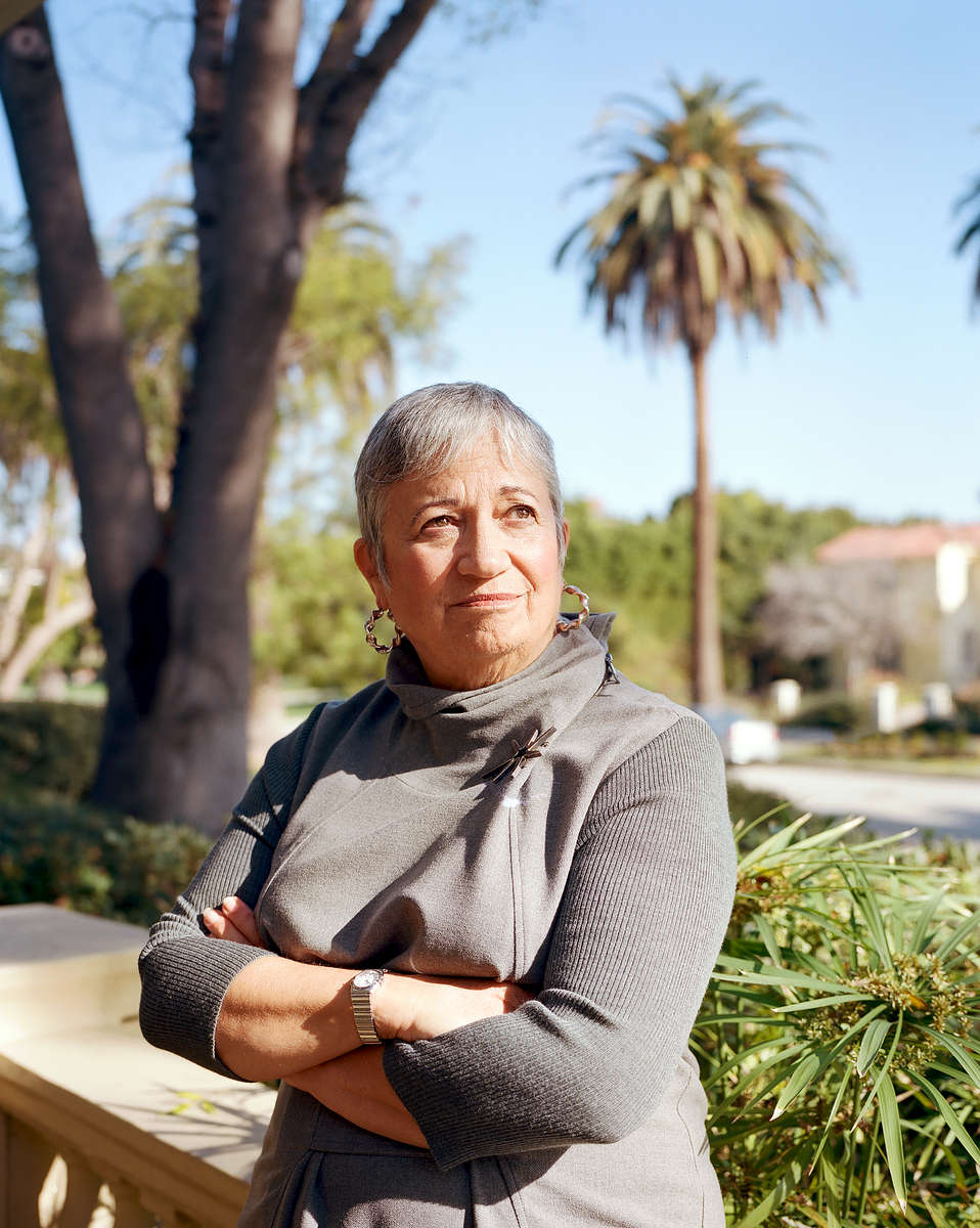 Mary D. Nichols is Chair of the California Air Resources Board, a post she has held since 2007. She sits for a portrait in her home in Los Angeles.
