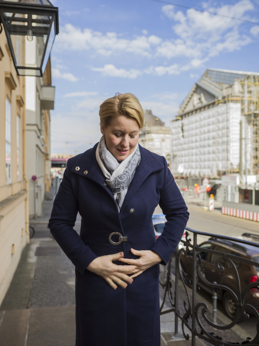 Franziska Giffey, German politician (SPD) and the Federal Minister for Family Affairs, Senior Citizens, Women and Youth