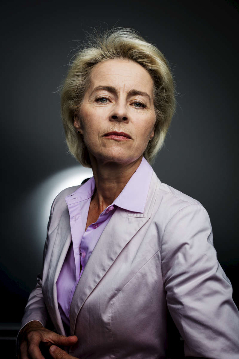 German Defense Minister Ursula von der Leyen See more...