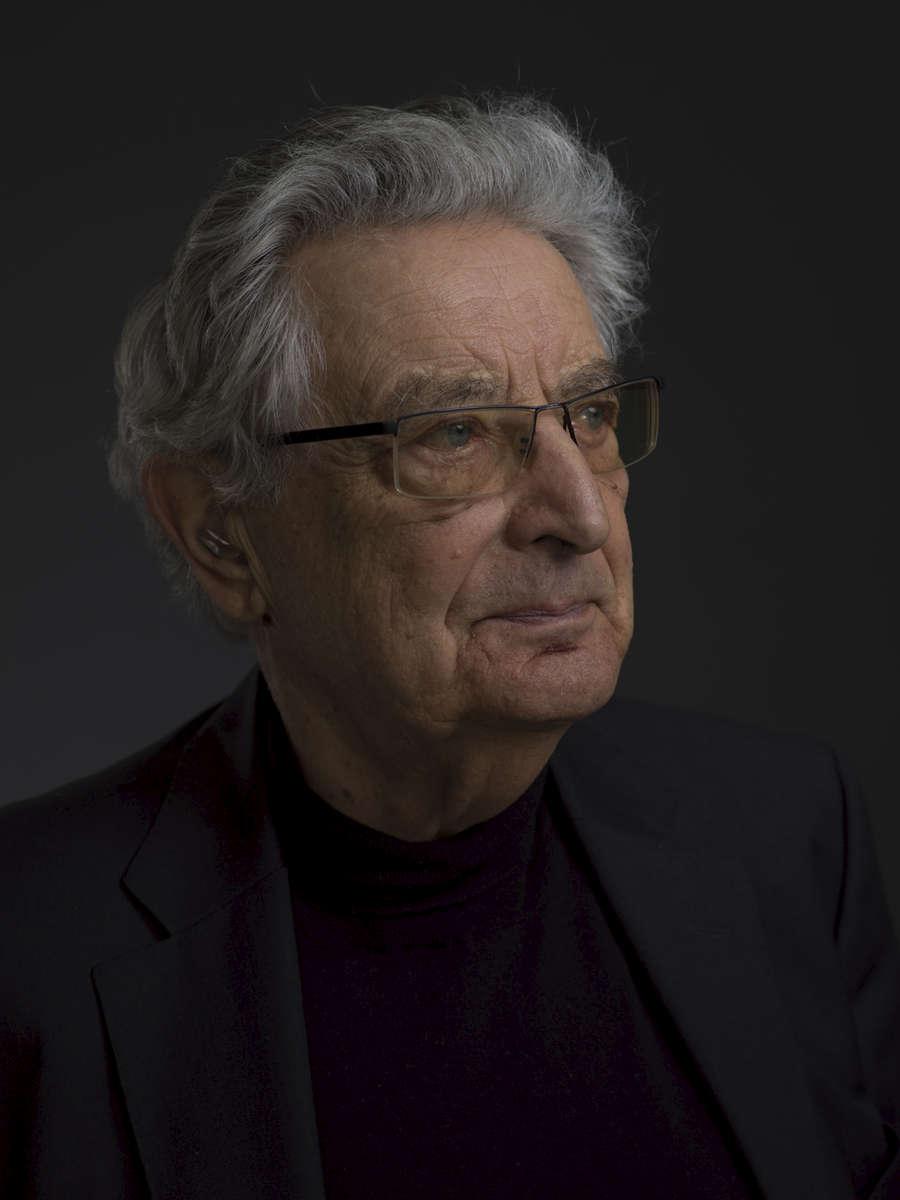 Former German Interior Minister Gerhart Baum.