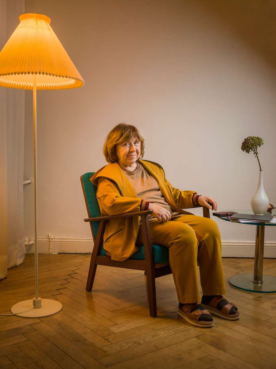 Svetlana AlexievichSee more...