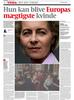 Politiken, Denmark, von der Leyen