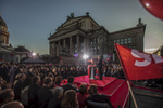September 22, 2017 - Berlin, Germany:  Social Democrats Party (SPD) leader and candidate for Chancellor Martin Schulz speaks during an election campaign rally of the SPD party at Gendarmenmarkt square. Germany goes to the polls for parliamentary elections on September 24, 2017.