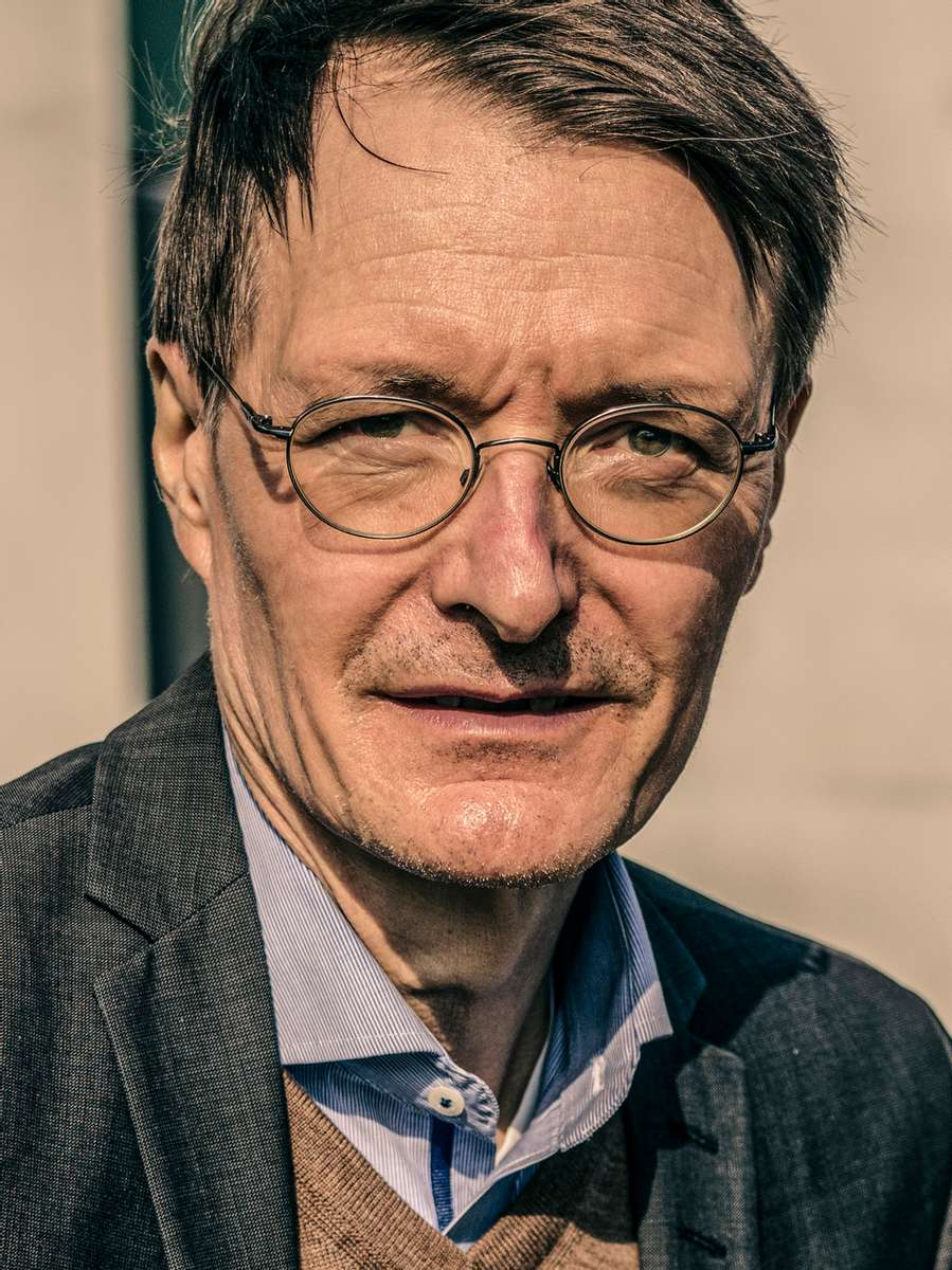 Karl Lauterbach, health policy expert of the German Social Democrats (SPD).See more...