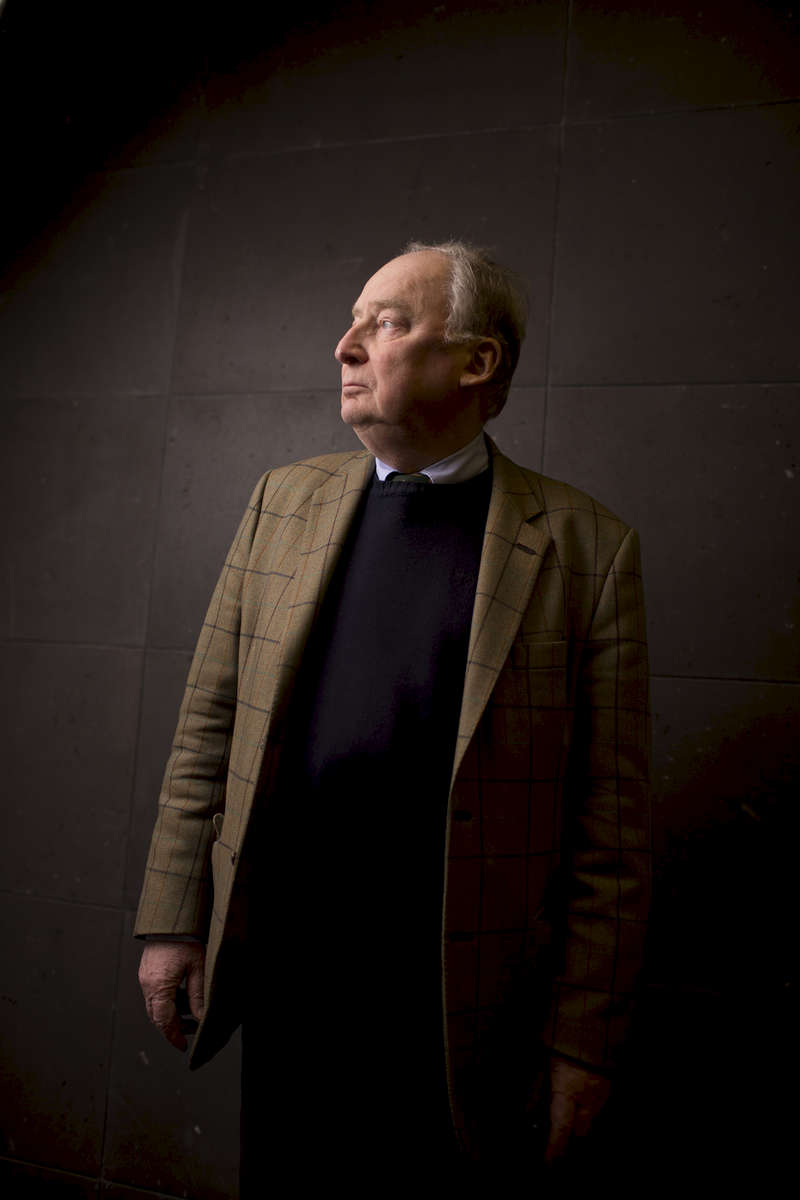 January 27, 2015 -Germany,  Berlin, Berlin: German jurist, journalist and politician Alexander Gauland, AfD (Alternative fuer Deutschland - Alternative for Germany) stands for a portrait prior to talks with foreign journalists. (Hermann BredehorstPolaris)