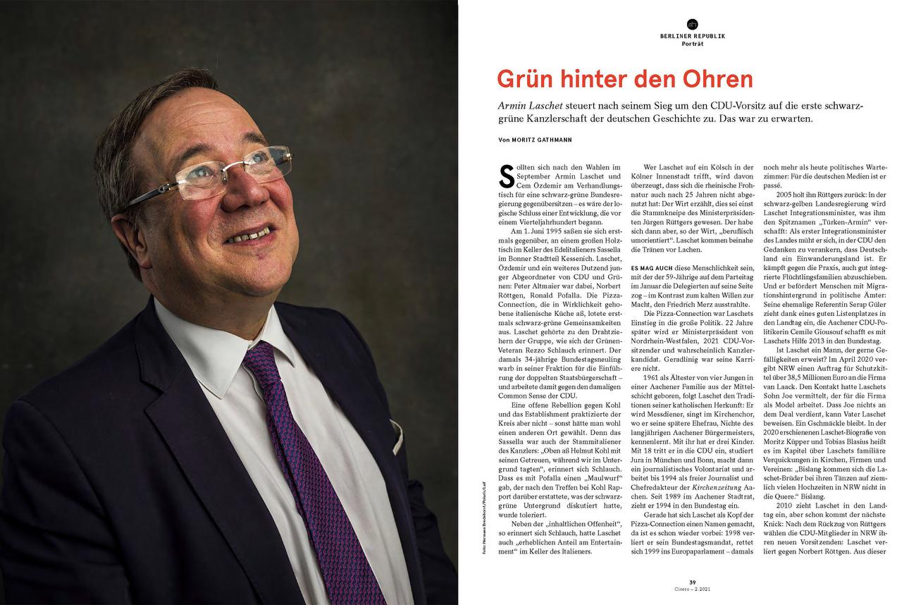 Germany, CICERO, Armin Laschet
