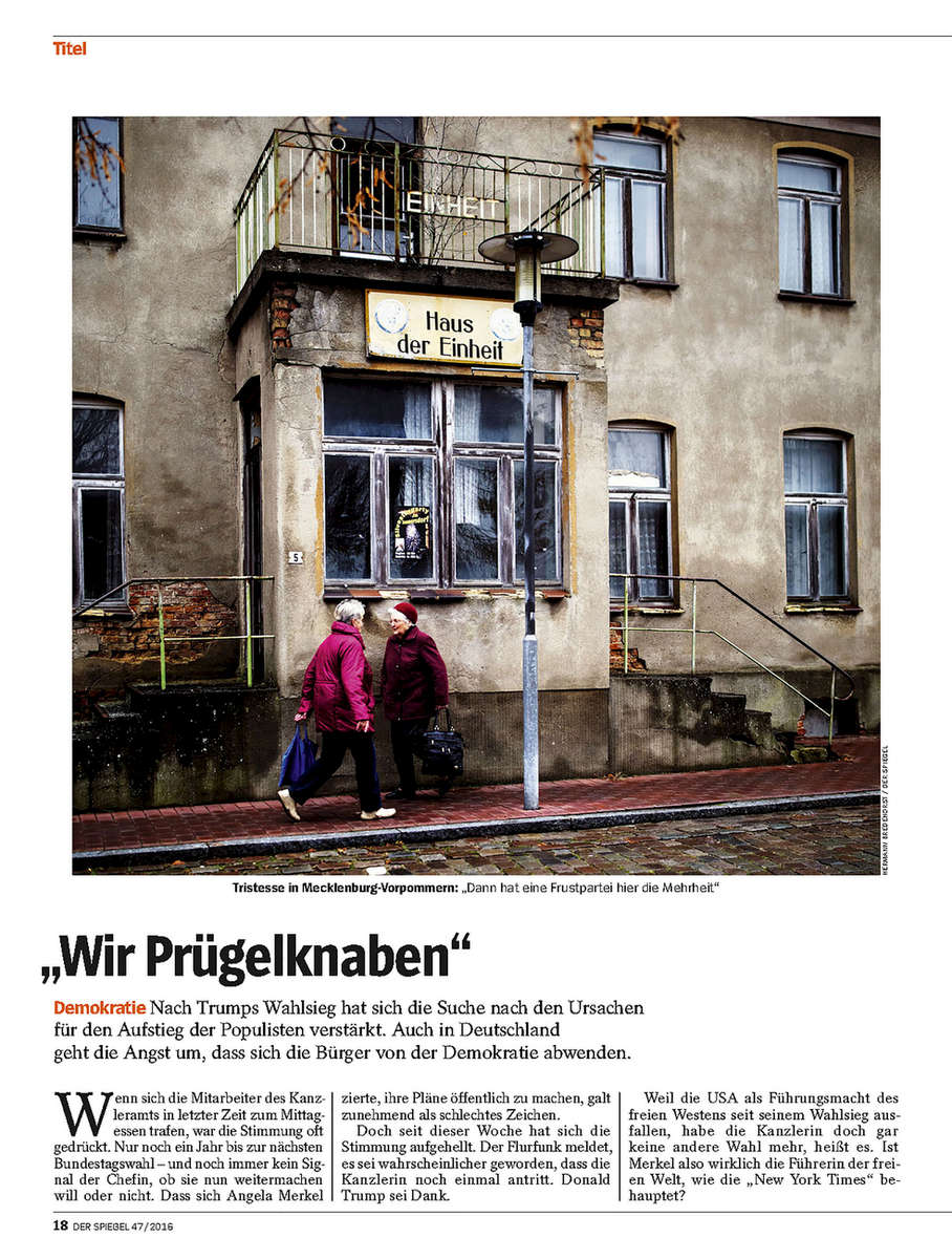 DER SPIEGEL, Germany, Mecklenburg Vorpommern