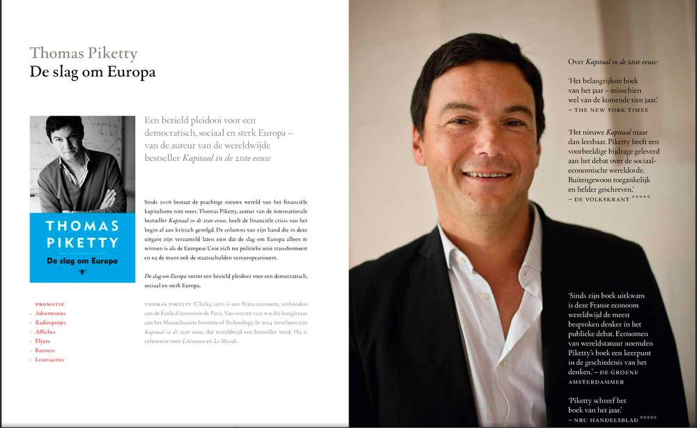 De Bezige Bij Thomas Piketty