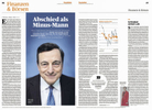 Handelsblatt, Germany, Mario Draghi, President of the European Central Bank between 2011 and 2019