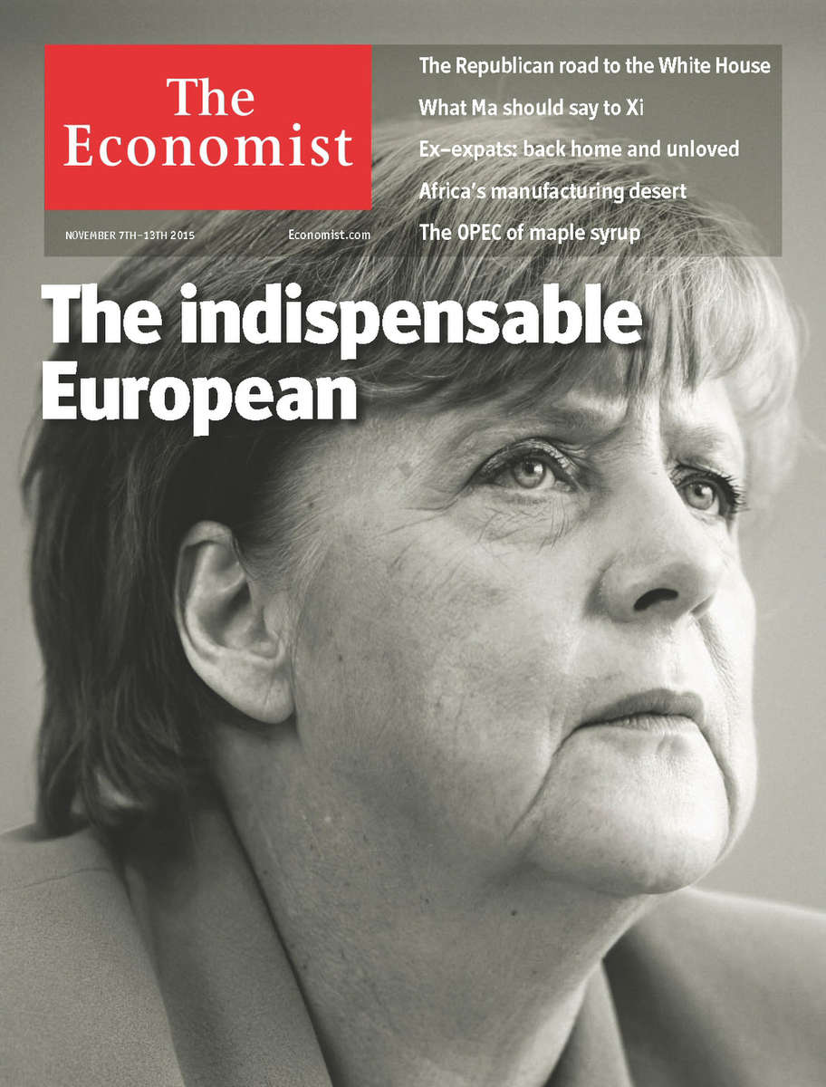 The Economist, Angela Merkel, German chancellor,