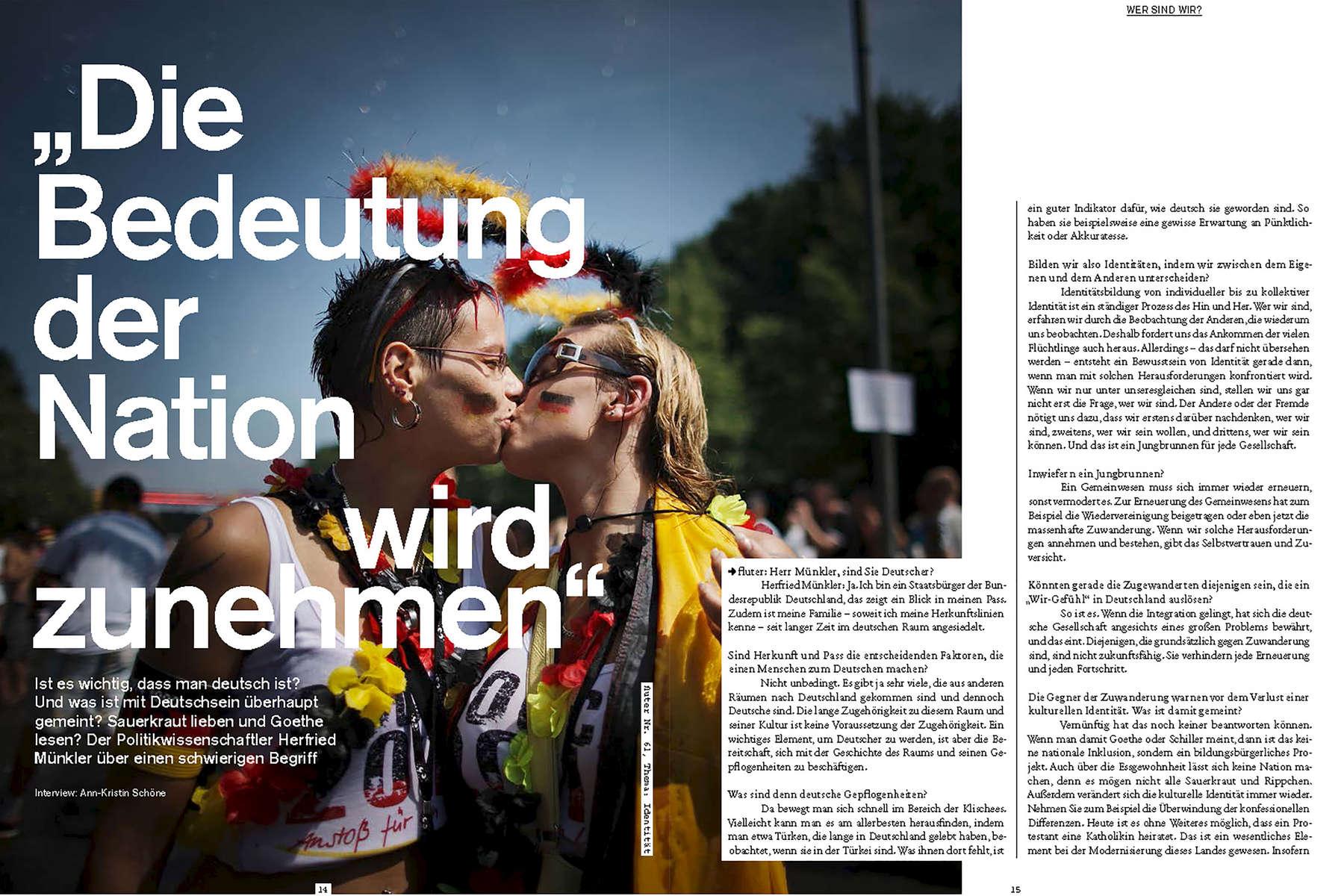 FLUTER, Germany, interview Herfried Münkler