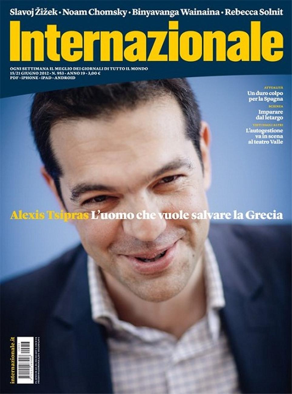 Internationale Magazine, Italy, Jul 02 2012 Alexis Tsipras