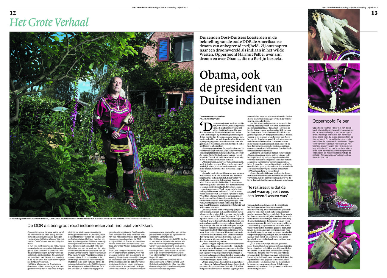 NRC Handelsblad, The Netherlands, 18.06.2013