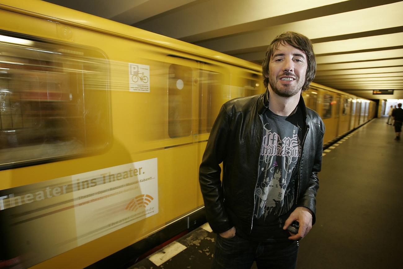 Troy Pierce, US DJ, Berlin