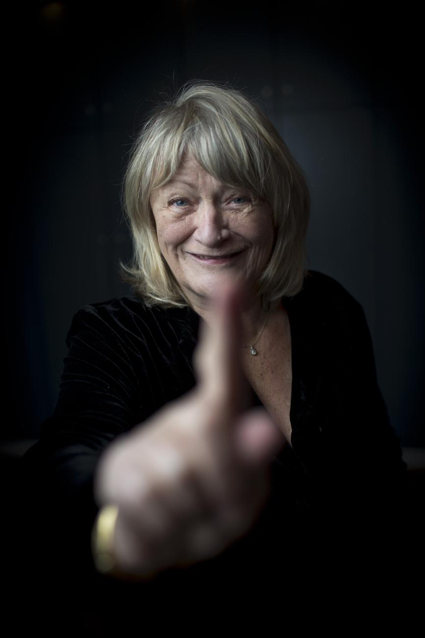 Alice Schwarzer, German journalist, author and feminist