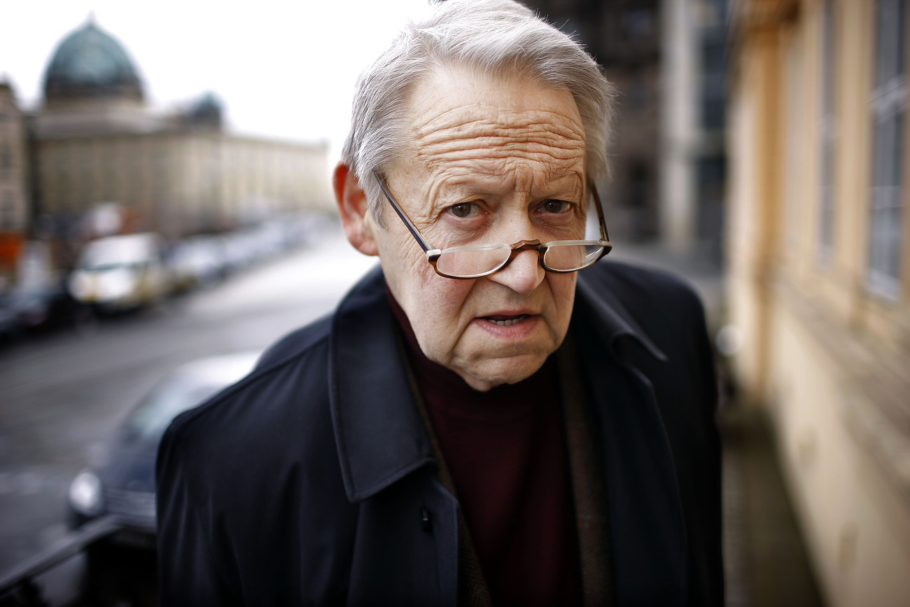 Guenter Schabowski, former official of the  GDR, author and pensioner, gained worldwide fame in November 1989 for accidentally beginning the destruction of the Berlin Wall. Berlin