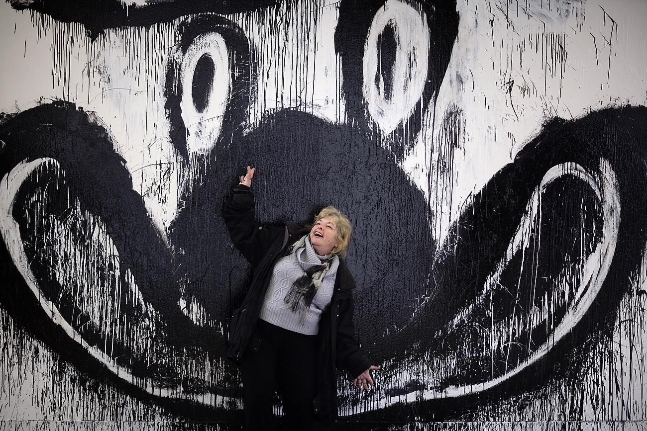 US artist Joyce Pensato, Berlin