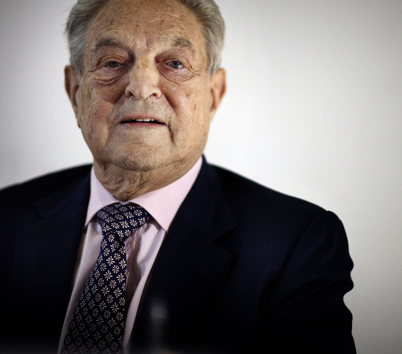 George Soros, Chairman of Soros Fund Managementand founder of the Open Society Institute, Berlin