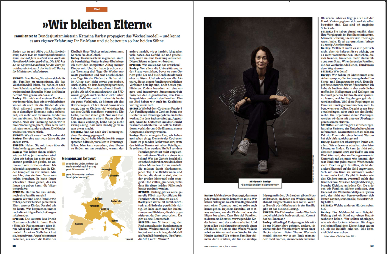 SPIEGEL Germany, Katarina Barley
