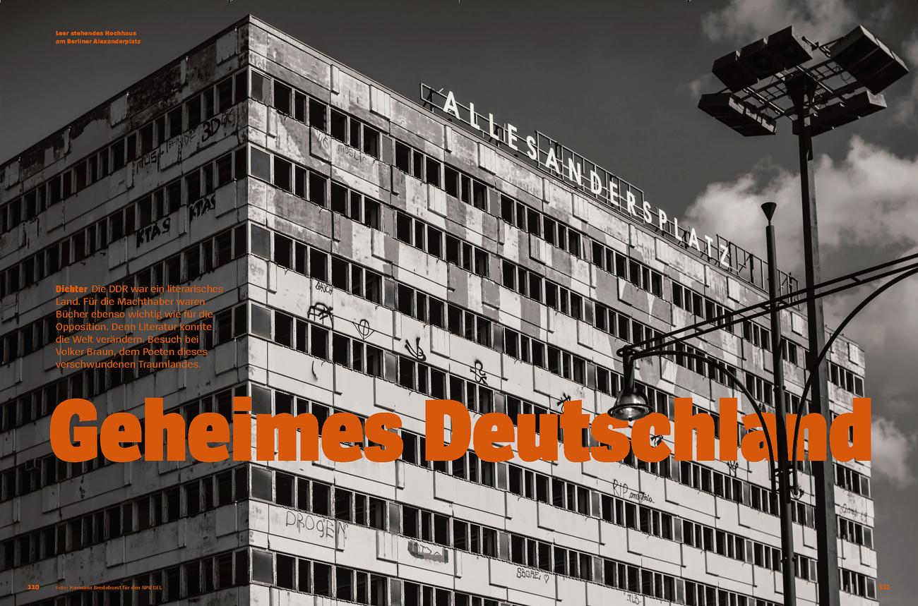 SPIEGEL Spezial 30 Jahre Mauerfall - Leseland DDR