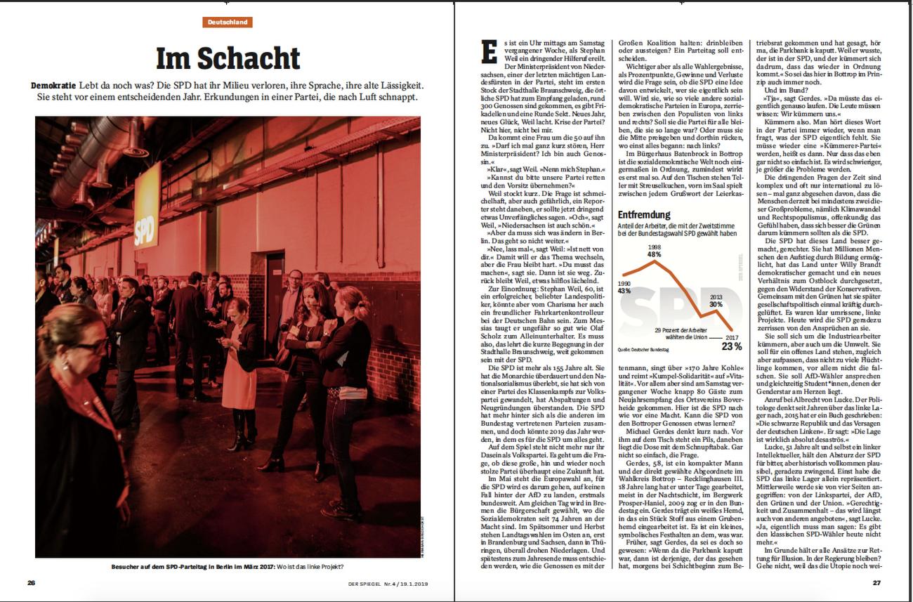 SPIEGEL Germany SPD