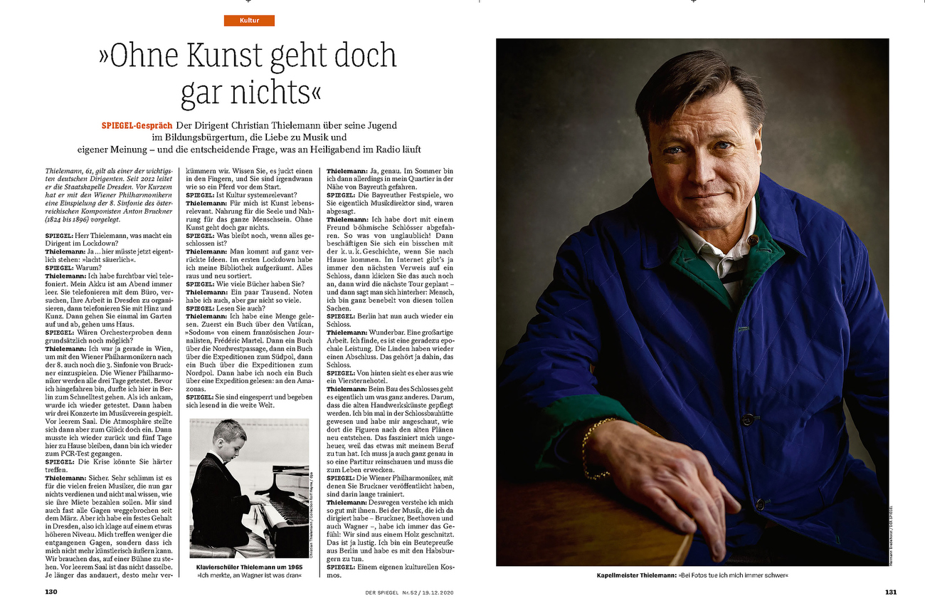 Germany, DER SPIEGEL, Christian Thielemann, conductor