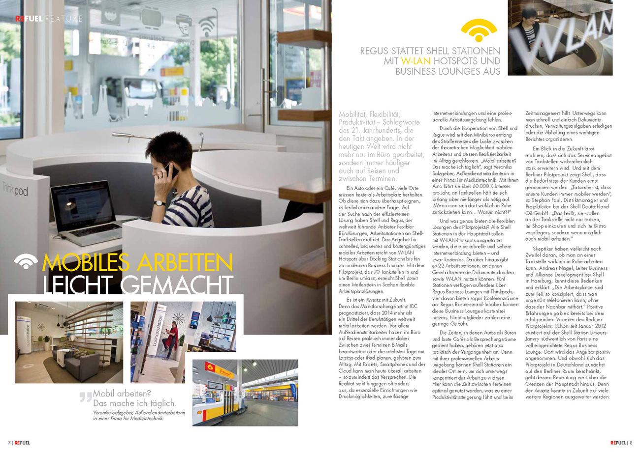 SHELL Euroshell Refuel Magazin Germany Issues 3 June 2013
