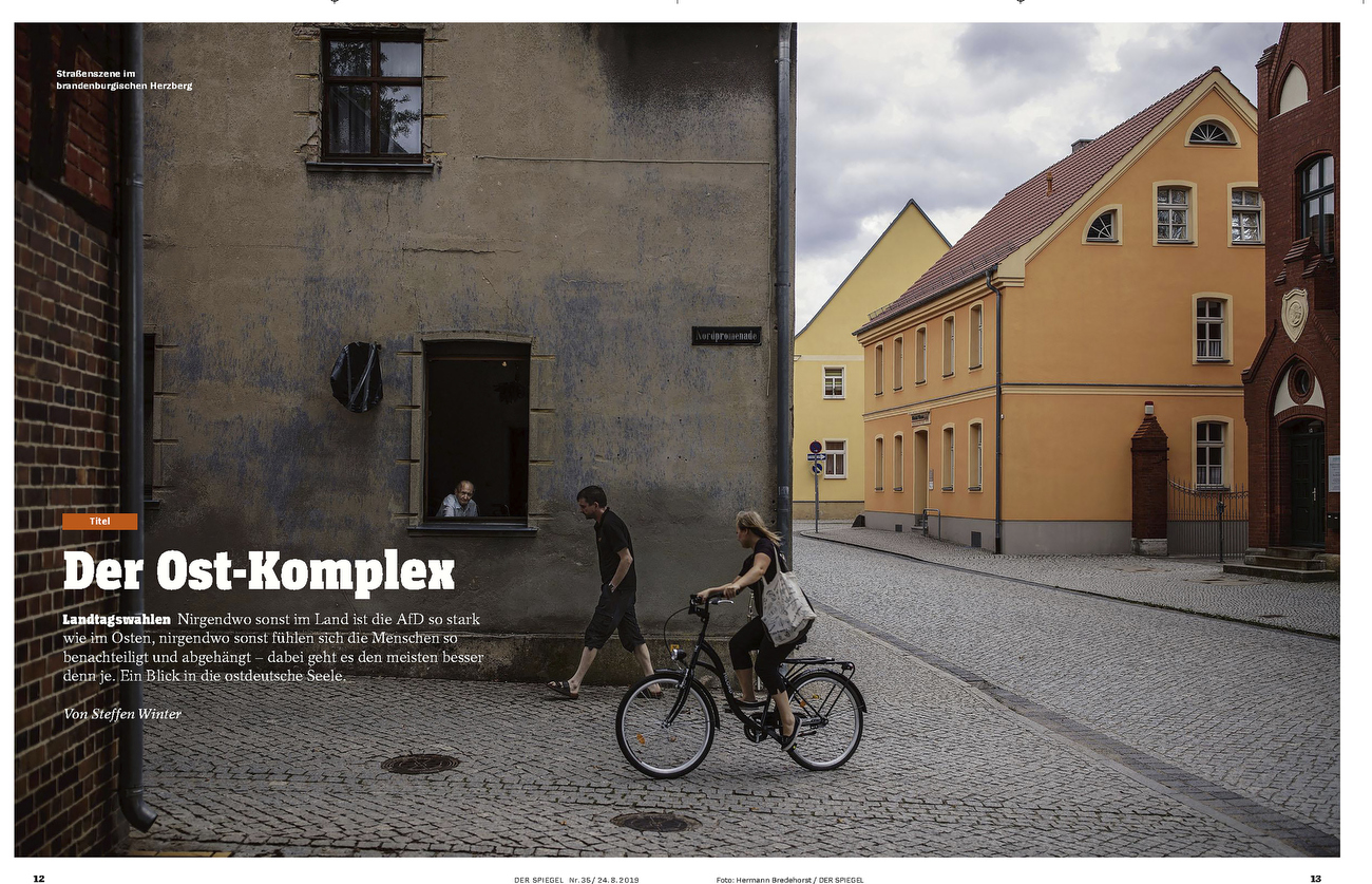 SPIEGEL Cover Story East Germany