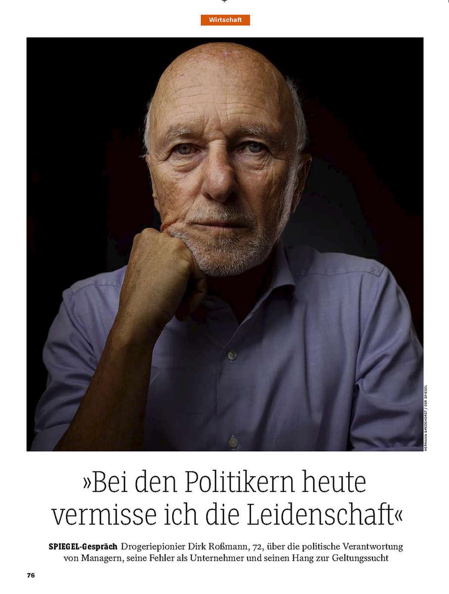SPIEGEL, Germany, Dirk Rossmann