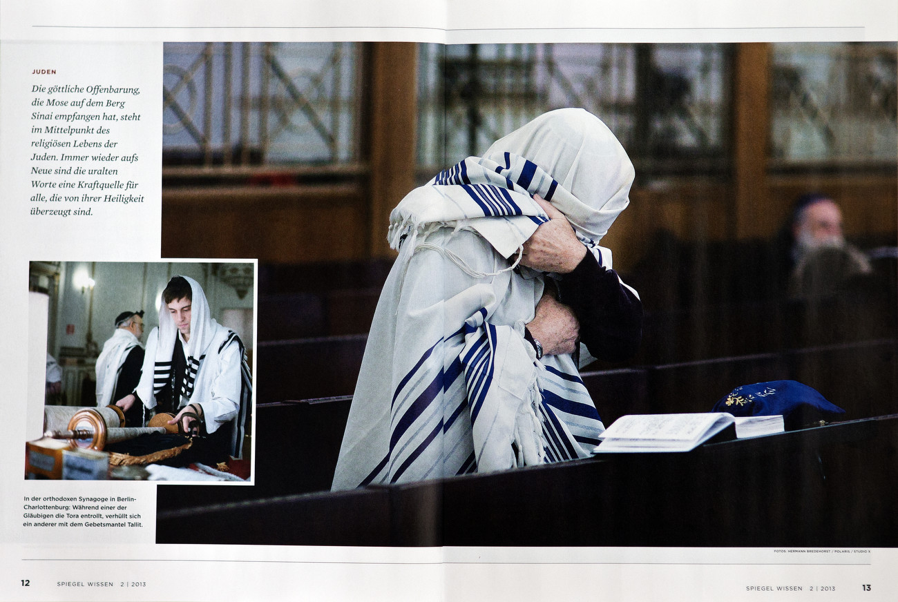 Spiegel Wissen, Germany, May 07 2013, You Never Walk Alone, Berlin believers - Glauben in Berlin Jewish Orthodox