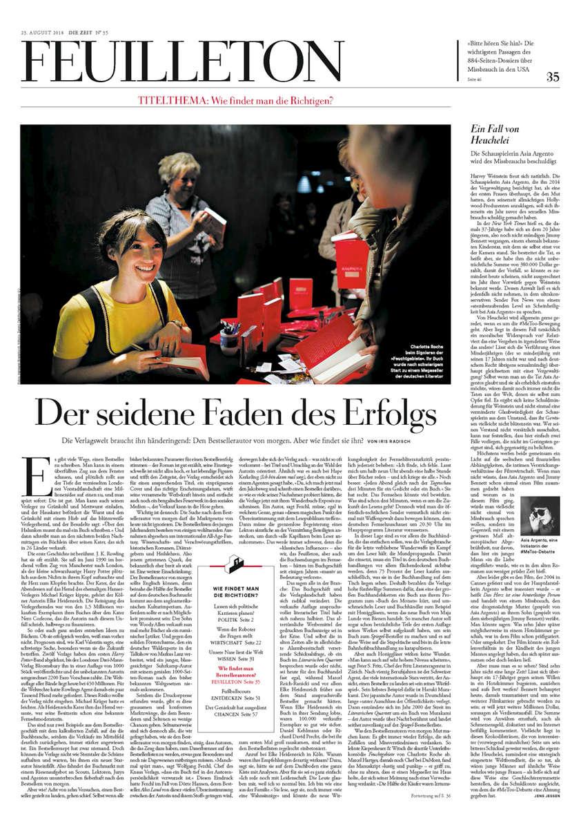 Germany, Die Zeit, Charlotte Roche