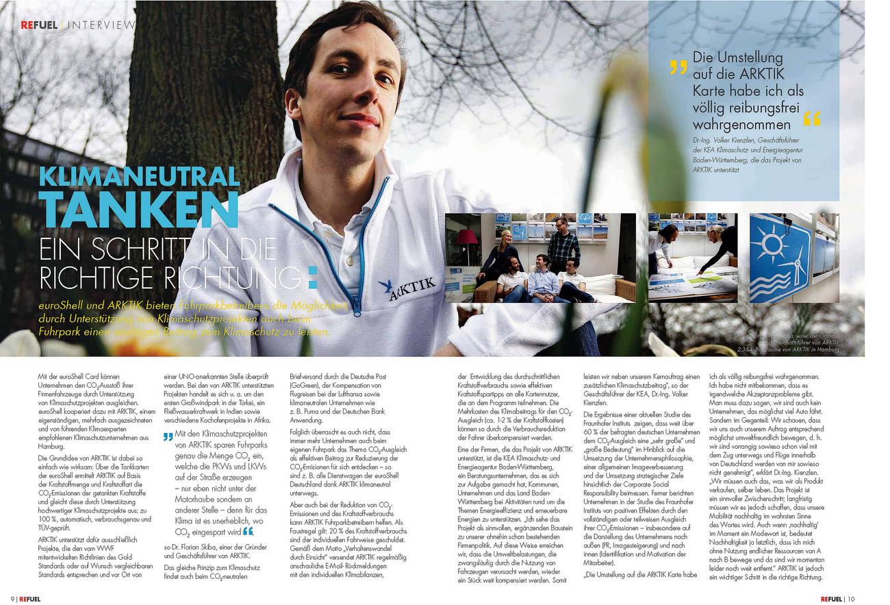 SHELL Euroshell Refuel Magazin Germany Issues1 may 2012