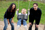Tracy, Luke and Geneva, 13 months, Seattle