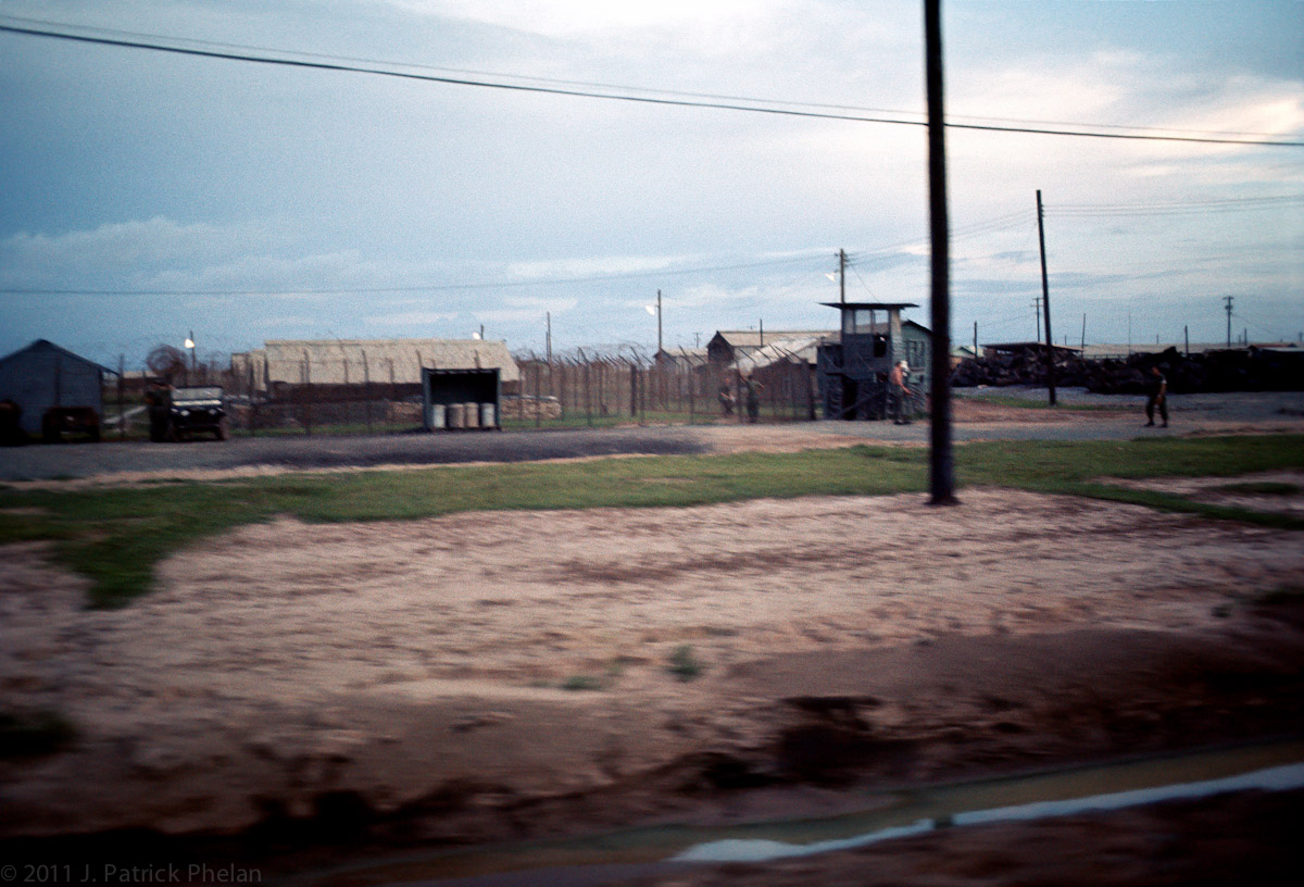 The Prisoner of War compound was just to the west of the LRP & 3/4 Cav barracks and motor pools.