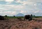 The Black Virgin Mountain, Nui Ba Den, dominates the landscape in Tay Nink province.