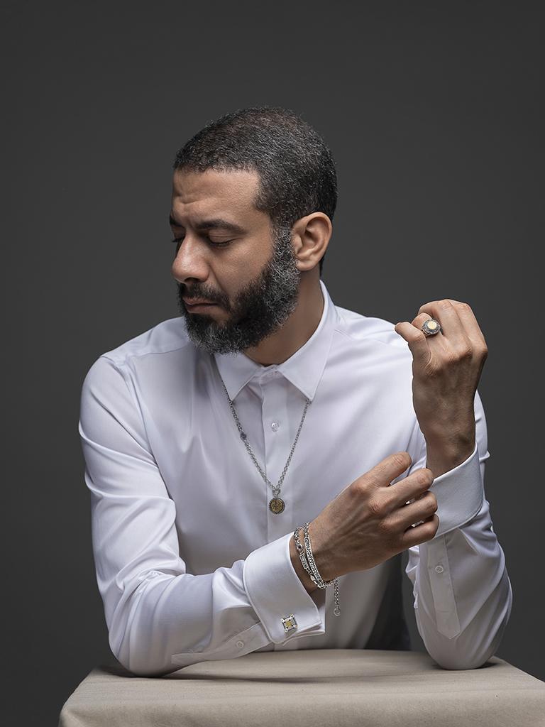 Azza Fahmy Men's collection campaign, 2020