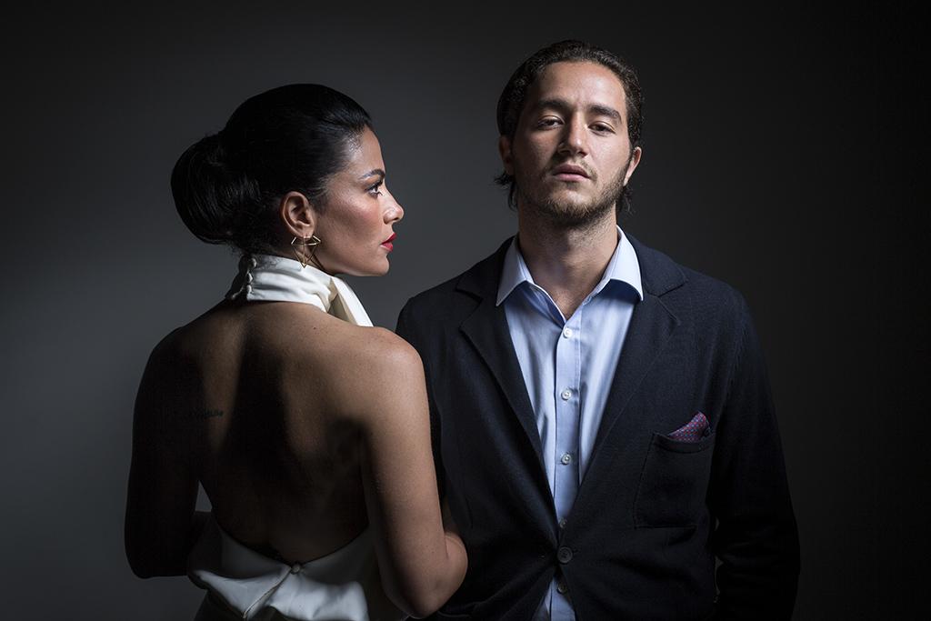 Saba Mubarak and Ahmed Malek