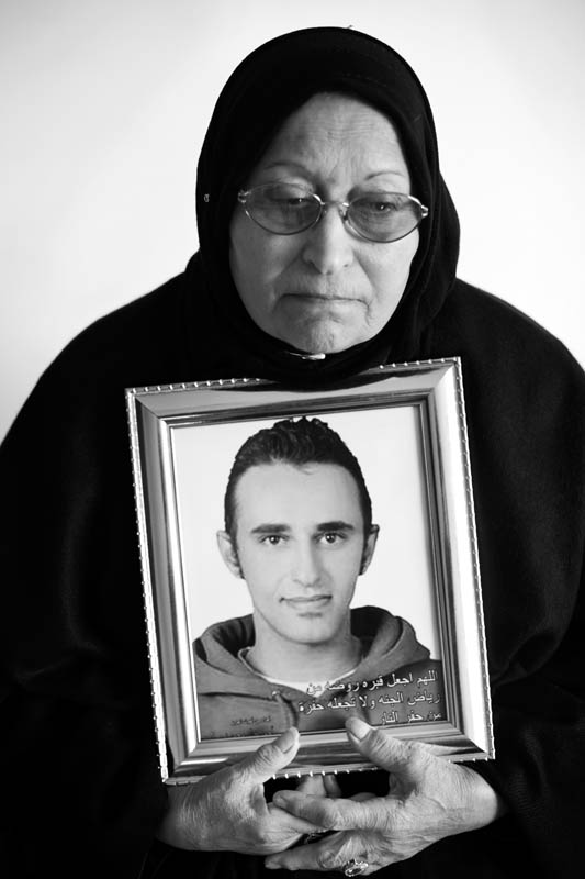 Laila Marzouk, Mother of the Martyr Khaled Said.Khaled Said, One of the main sparks of the revolution, 28 years old, he was beaten to death by the Egyptian Security forces in Alexandria on the 6th of June 2010