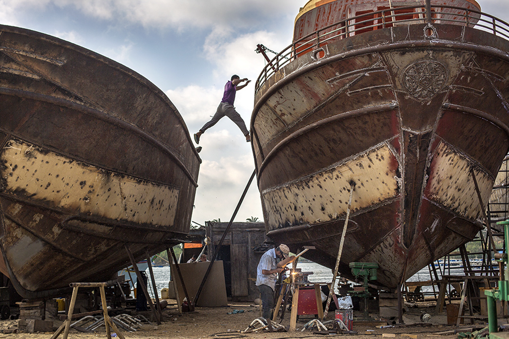 Shipmaking Workshop, Rashid, Egypt, 2015